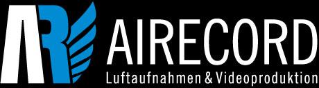 Logo Airecord - Luftaufnahmen Dresden
