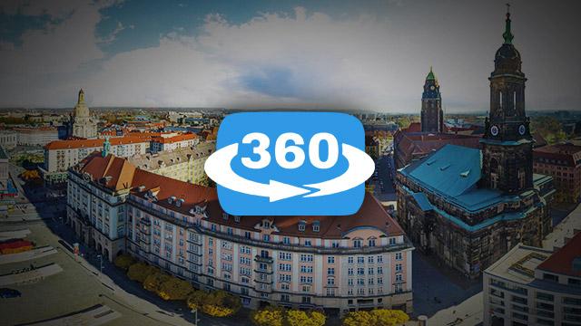 Flieg über Dresden 360° Panorama-Tour im Herbst 2015