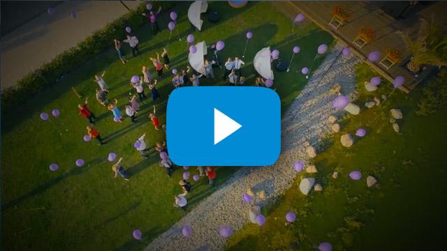 Dresden: Hochzeit aus der Luft Abendliche Luftaufnahmen einer Traumhochzeit in Dresden mit der Drohne