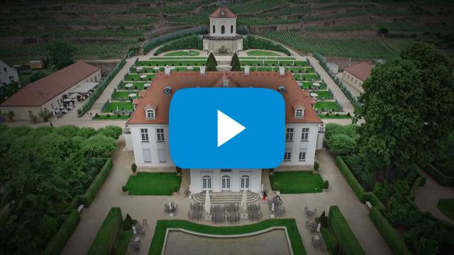 Nicole & Andreas - Die Hochzeit Schloss Wackerbarth – Trotz Blitz und Donner sind wir mit dabei gewesen