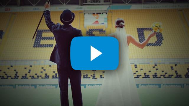 Hochzeit – Steffi & Steffen Eine Traumhochzeit wie aus dem Märchenbuch im Dynamo-Dresden-Flair